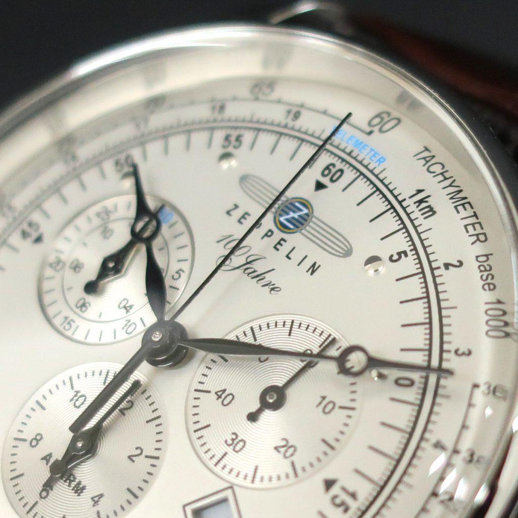 ZEPPELIN ツェッペリン 「LZ1」100周年記念モデル クォーツクロノグラフ 7680-1N
